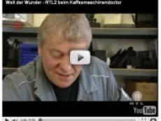 Welt der Wunder (RTL2) beim Kaffeemaschinendoctor