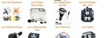 Jura Ersatzteile beim Kaffeemaschinendoctor